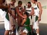 Gangbang with a basket team